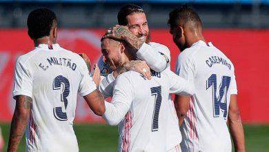 صورة تشكيل ريال مدريد لمباراة إليتشي اليوم في الدوري الاسباني
