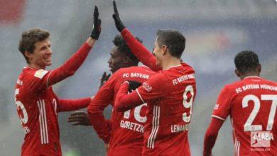 صورة أهداف مباراة بايرن ميونيخ و فرايبورغ اليوم (2-1) في الدوري الألماني
