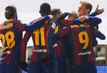 صورة برشلونة يتخطي عقبة ريال سوسييداد وبيلغ نهائي كأس السوبر الاسباني
