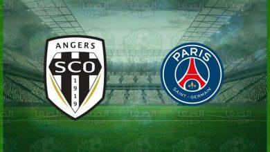 صورة نتيجة مباراة باريس سان جيرمان وأنجيه اليوم  في الدوري الفرنسي