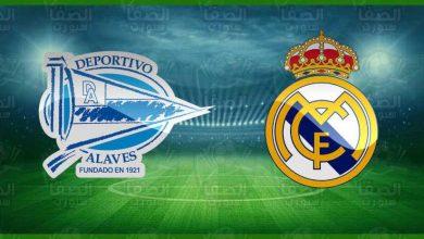 صورة موعد مباراة ريال مدريد وديبورتيفو ألافيس القادمة و القنوات الناقلة في الدوري الاسباني
