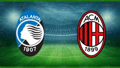 صورة موعد مباراة ميلان وأتلانتا القادمة والقنوات الناقلة في الدوري الإيطالي