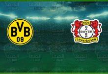 صورة موعد مباراة بوروسيا دورتموند وبايرن ليفركوزن اليوم القنوات الناقلة في الدوري الألماني
