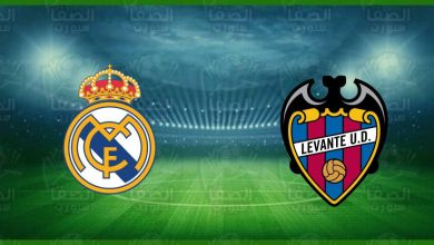 صورة موعد ومعلق مباراة ريال مدريد وليفانتي القادمة و القنوات الناقلة في الدوري الاسباني