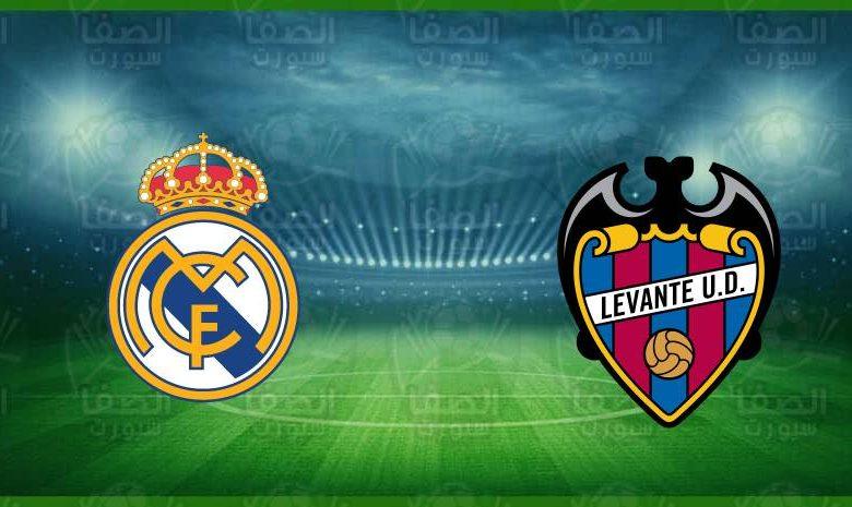 موعد ومعلق مباراة ريال مدريد وليفانتي القادمة و القنوات الناقلة في الدوري الاسباني