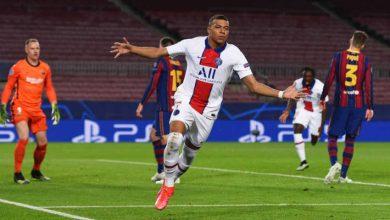 صورة أهداف مباراة برشلونة وباريس سان جيرمان (1-4) اليوم في دوري أبطال أوروبا