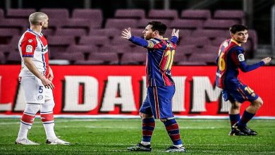 صورة أهداف مباراة برشلونة وديبورتيفو ألافيس (5-1) اليوم في الدوري الاسباني