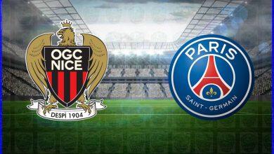 صورة القنوات المفتوحة الناقلة لمباراة باريس سان جيرمان ونيس اليوم في الدوري الفرنسي