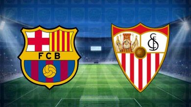 صورة نتيجة مباراة برشلونة واشبيلية اليوم فى الدوري الاسباني