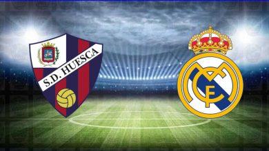 صورة ملخص مباراة ريال مدريد وهويسكا اليوم في الدوري الاسباني