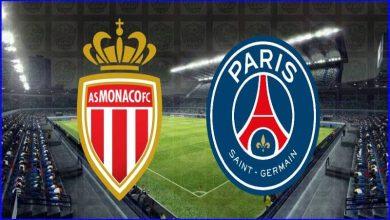 صورة موعد ومعلق مباراة باريس سان جيرمان وموناكو القادمة والقنوات الناقلة في الدوري الفرنسي