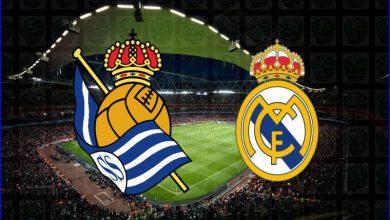 صورة موعد ومعلق مباراة ريال مدريد وريال سوسييداد اليوم والقنوات الناقلة في الدوري الاسباني