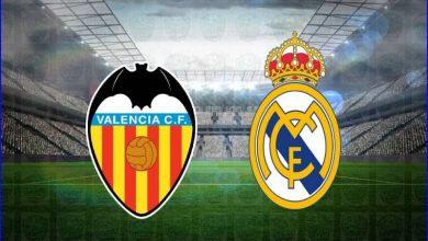 صورة موعد ومعلق مباراة ريال مدريد وفالنسيا القادمة والقنوات الناقلة في الدوري الاسباني