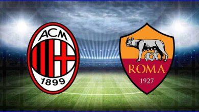 صورة موعد ومعلق مباراة ميلان وروما القادمة والقنوات الناقلة في الدوري الايطالي