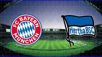 صورة موعد مباراة بايرن ميونخ وهيرتا برلين القادمة والقنوات الناقلة في الدوري الألماني