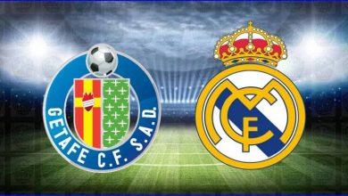 صورة موعد و معلق مباراة ريال مدريد و خيتافي القادمة والقنوات الناقلة في الدوري الاسباني