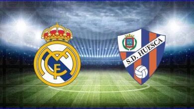 صورة موعد و معلق مباراة ريال مدريد وهويسكا اليوم والقنوات الناقلة في الدوري الاسباني