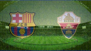 صورة برشلونة يكتسح التشي بثلاثية نظيفة في الدوري الاسباني