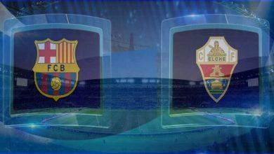 صورة نتيجة مباراة برشلونة وإلتشي اليوم فى الدوري الاسباني
