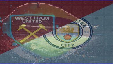 صورة القنوات المفتوحة الناقلة لمباراة مانشستر سيتي ووست هام يونايتد اليوم في الدوري الإنجليزي