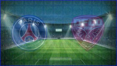 صورة القنوات المفتوحة الناقلة لمباراة باريس سان جيرمان وديجون اليوم في الدوري الفرنسي