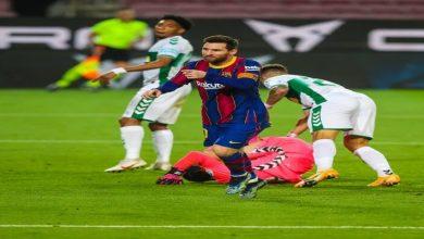 صورة أهداف مباراة برشلونة وإلتشي (3-0) اليوم في الدوري الاسباني