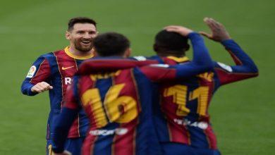 صورة أهداف برشلونة واشبيلية (2-0) اليوم في الدوري الاسباني