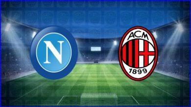 صورة القنوات المفتوحة الناقلة لمباراة ميلان ونابولي اليوم في الدوري الإيطالي