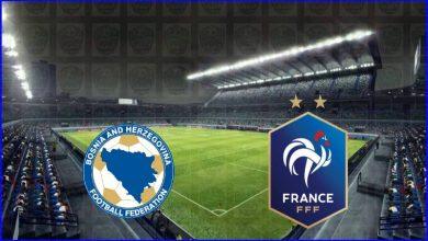 صورة موعد ومعلق مباراة فرنسا والبوسنة والهرسك القادمة والقنوات الناقلة في تصفيات اوروبا لكأس العالم 2022