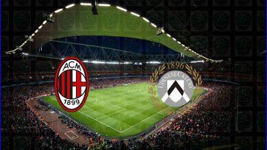 صورة القنوات المفتوحة الناقلة لمباراة ميلان وأودينيزي اليوم في الدوري الايطالي
