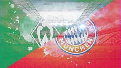 صورة موعد مباراة بايرن ميونيخ وفيردر بريمن القادمة والقنوات الناقلة في الدوري الالماني