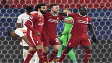 صورة محمد صلاح وماني يقودا ليفربول لعبور ثمن النهائي بثنائية