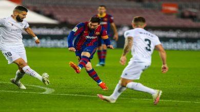 صورة أهداف مباراة برشلونة وهويسكا (4-1) اليوم في الدوري الاسباني