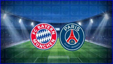 صورة القنوات المفتوحة الناقلة لمباراة باريس سان جيرمان وبايرن ميونيخ اليوم في دوري أبطال أوروبا