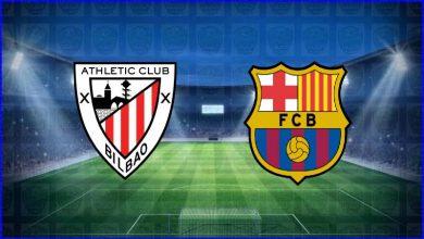 صورة القنوات المفتوحة الناقلة لمباراة برشلونة وأتلتيك بيلباو اليوم في كأس ملك إسبانيا