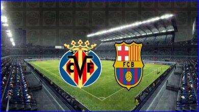 صورة القنوات المفتوحة الناقلة لمباراة برشلونة وفياريال اليوم في الدوري الاسباني