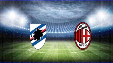 صورة القنوات المفتوحة الناقلة لمباراة ميلان وسامبدوريا اليوم في الدوري الايطالي