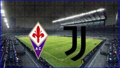 صورة القنوات المفتوحة الناقلة لمباراة يوفنتوس وفيورنتينا اليوم في الدوري الايطالي
