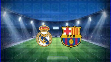"""صورة موعد مباراة برشلونة وريال مدريد القادمة والقنوات الناقلة في الدوري الاسباني """"الكلاسيكو """""""
