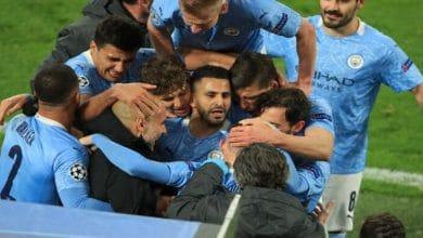 صورة أهداف مباراة مانشستر سيتي وبوروسيا دورتموند (2-1) اليوم في دوري أبطال اوروبا