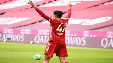 صورة أهداف بايرن ميوينخ ويونيون برلين (1-1) اليوم في الدوري الالماني