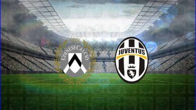 صورة نتيجة مباراة يوفنتوس وأودينيزي اليوم في الدوري الايطالي
