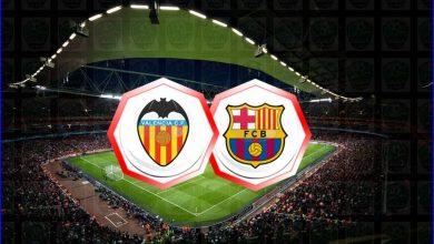 صورة موعد مباراة برشلونة وفالنسيا اليوم والقنوات الناقلة في الدوري الاسباني