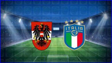 """صورة القنوات المفتوحة الناقلة لمباراة إيطاليا والنمسا اليوم في كأس الأمم الأوروبية """"يورو 2020"""""""
