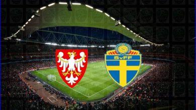"""صورة نتيجة مباراة السويد وبولندا اليوم في كأس الأمم الأوروبية """"يورو 2020"""""""
