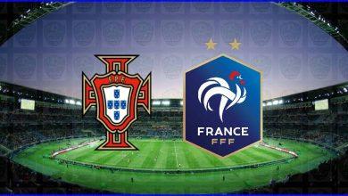 """صورة نتيجة مباراة فرنسا والبرتغال اليوم فى كأس الأمم الأوروبية """"يورو 2020"""""""