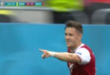 """صورة أهداف مباراة أوكرانيا والنمسا (0-1) اليوم في كأس الأمم الأوروبية """"يورو 2020"""""""