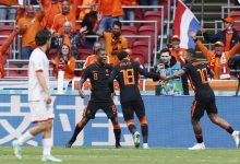 """صورة أهداف مباراة هولندا ومقدونيا الشمالية (3-0) اليوم في كأس الأمم الأوروبية """"يورو 2020"""""""