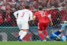 """صورة أهداف مباراة روسيا والدانمارك (1-4) اليوم في كأس الأمم الأوروبية """"يورو 2020"""""""
