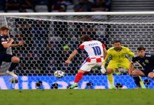 """صورة أهداف مباراة كرواتيا وإسكوتلندا (3-1) اليوم في كأس الأمم الأوروبية """"يورو 2020"""""""